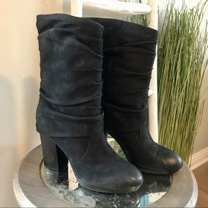 Vince Camuto | Black Cassandra Slouch Tall Boots